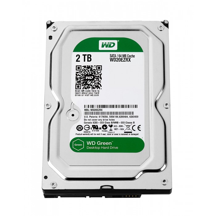 WD Desktop 2TB Internal Hard Drives