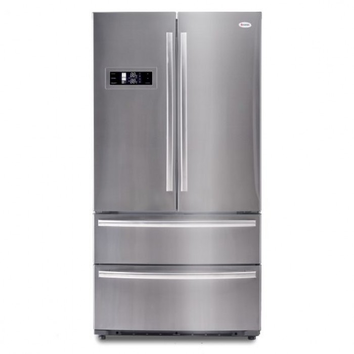 Omaha 700Ltr Four Doors Side by Side Stainless Refrigerator   SM0700FS