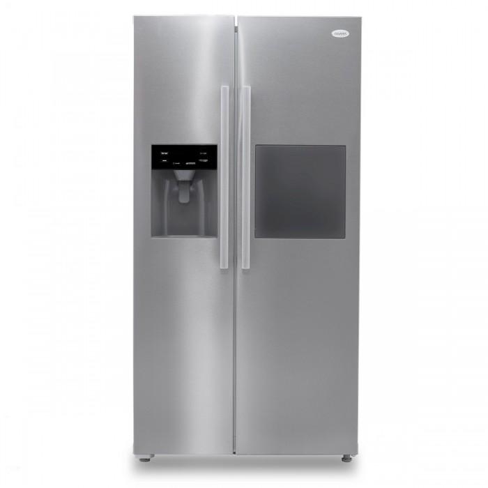 Omaha 573Ltr Side By Side Black & Glass Finishing Refrigerator   SKO620B