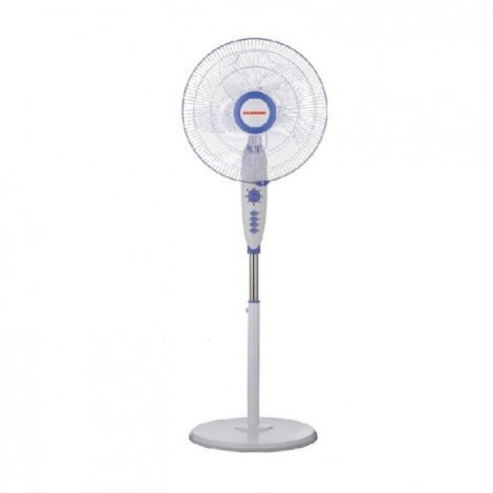 Omaha 18 Inch Rechargeable Standing Fan With Remote | OMRF-418