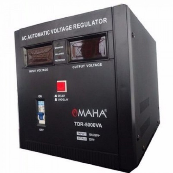 Omaha 5KVA Digital Display Stabilizers   TDR-5000