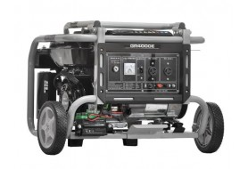 Omaha 2.5KVA Gasoline Generator With Wheel And Battery   GR4000E