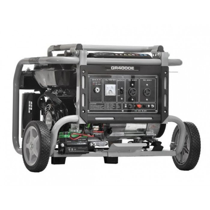 Omaha 2.5KVA Gasoline Generator With Wheel And Battery | GR4000E