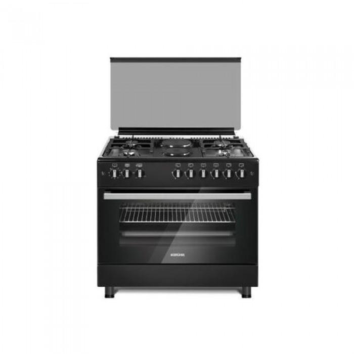 Omaha 5 Burner 90X60 Semi Industrial Gas Cooker | OM90SPB