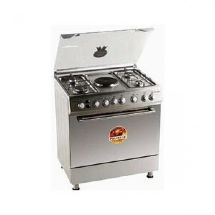 Polystar 4G+1E Burner Gas Cooker | PVND-BL950G1 (4 Gas + 1 Electric Hotplate)