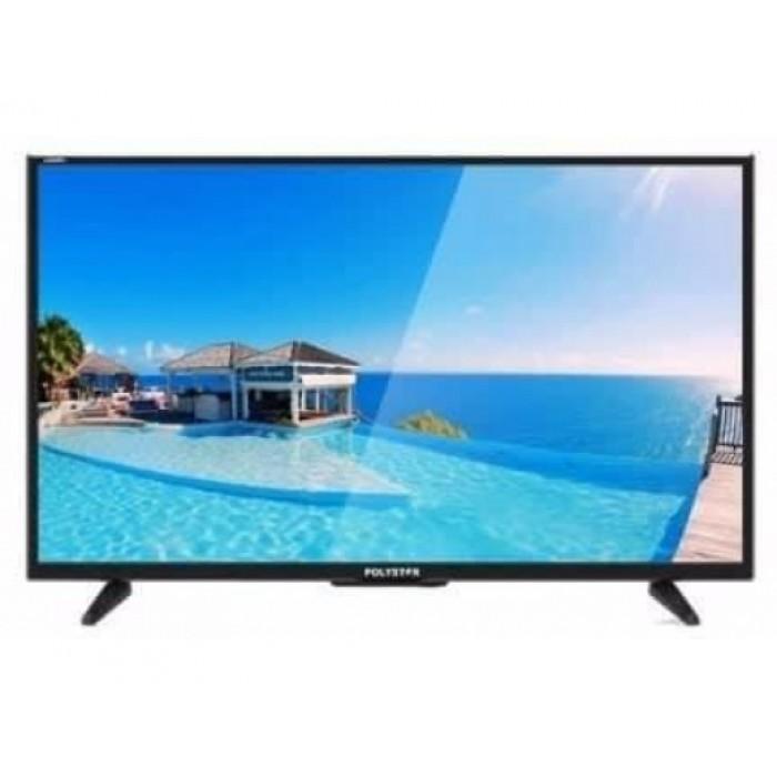 Polystar 32 Inches HD LED Television PV-JP32D1100 | Energy Saving, Sleep Timer, Multi-Lingual OSD, Black TV