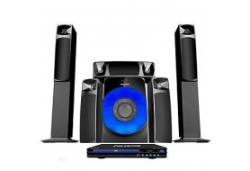 Polystar Micro Set+ DVD Player with 3 Speakers -Mini Home Theatre, Fm Radio, Bluetooth | Pv-861-3.1