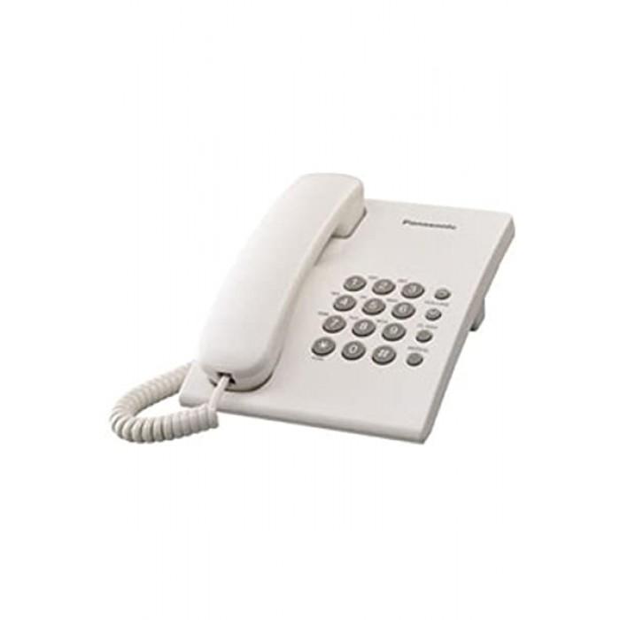 Panasonic Corded Landline Phone White Colour KX-TS500MX-W