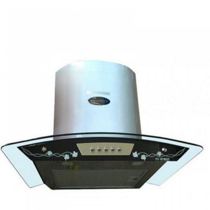 Polystar 900mm Cooker Hood With Remote Control & Smoke Sensor   PV-NY90RMCH