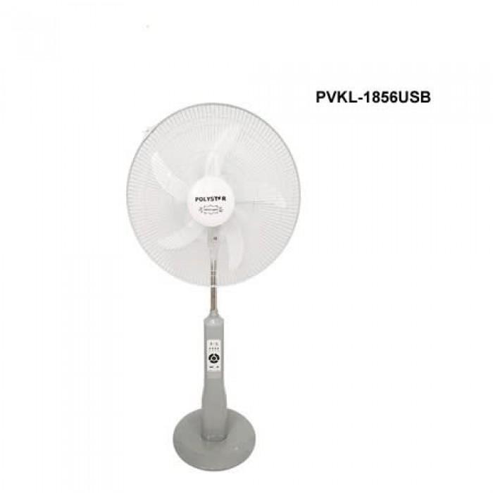Polystar 18 Inch Rechargeable Fan | PVKL-1856USB