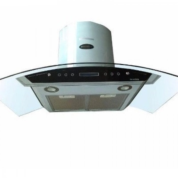Polystar 900mm Range Hood With Remote Control And Sensor | PV-90A12RMCH