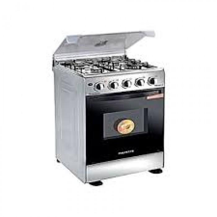 Polystar 4 Burner Gas Cooker, Auto Ignition Enamel Grill PV-BS50G4A