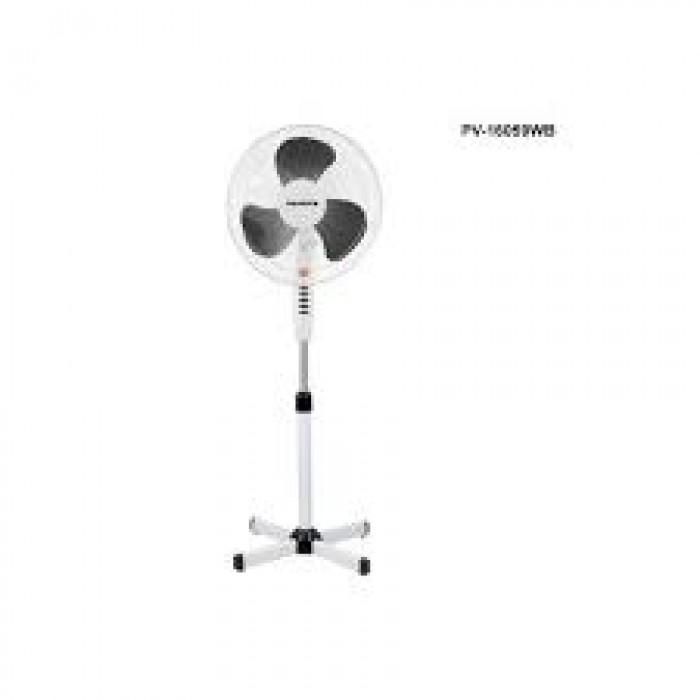 Polystar 16 Inches 3 Speed Blades Fan, Blue & White | PV-16059BW