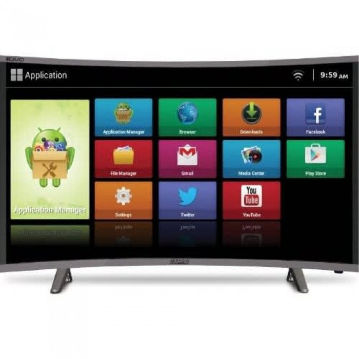Polystar 65 Inches Curve LED Android Smart Television (PV-JP65CV2100SY)