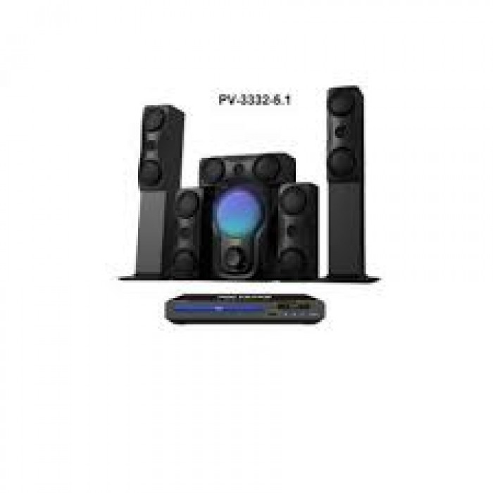 Polystar Home Theatre with DVD Player (PV-3332-5.1)