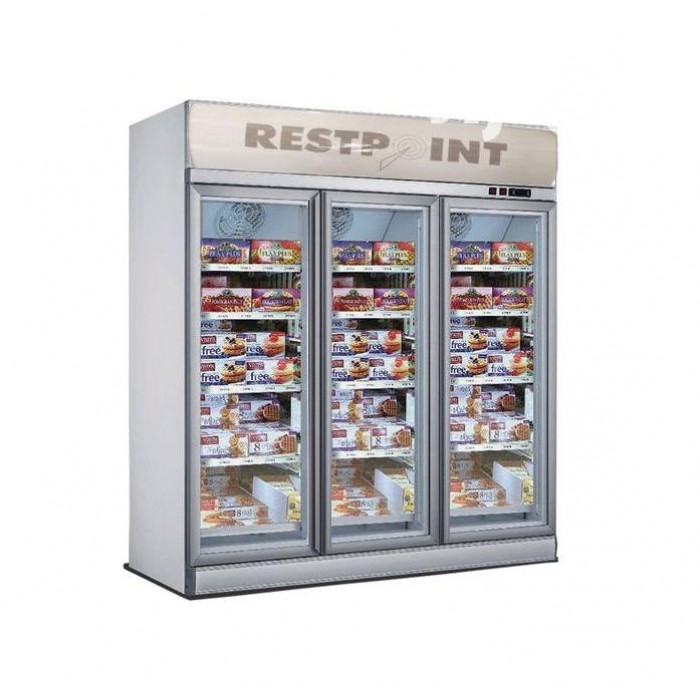 RestPoint 1530L Three Door Showcase Chiller RC-1500CL
