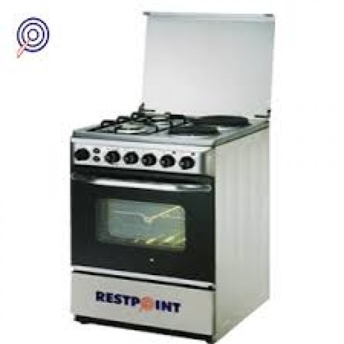 RestPoint 2 Gas + 2 Electric Burners Cooker | 2G + 2E Free Standing Gas Oven RC-50GA
