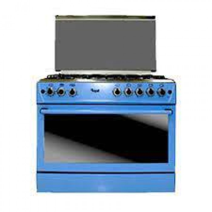 Royal Luxury Series Blue 5 Gas 1 Tray + 1 Grid In The Oven (ROY-GAS0048 RG6950LB)