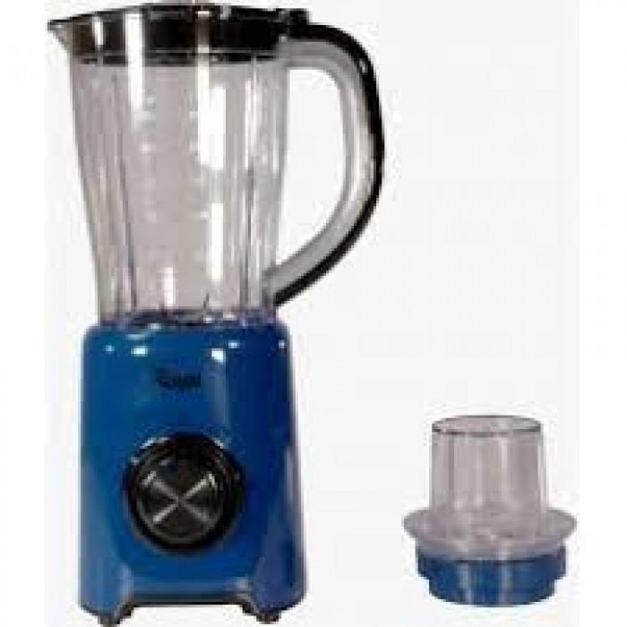 Royal 1.5 Liters Jug 500W Blender with One Grinder Blue Color(ROY-BL0006  RBL9002BB)