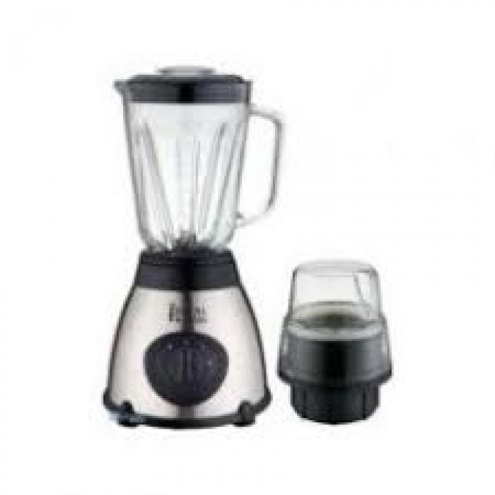 Royal 1.5 Liters Jug 400W Blender with One Grinder White and Black Color(ROY-BL0007|RBL2005WB)