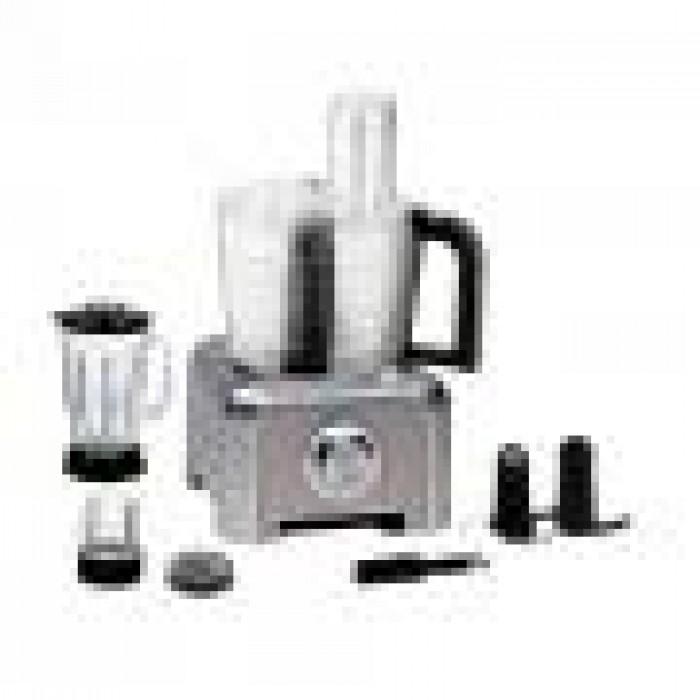 Scanfrost SFFP60D2M Blender 1.5L Bowl + 1.25L Blender Jar + 4L Grinder Cup | Food Processor | APSCBL0014