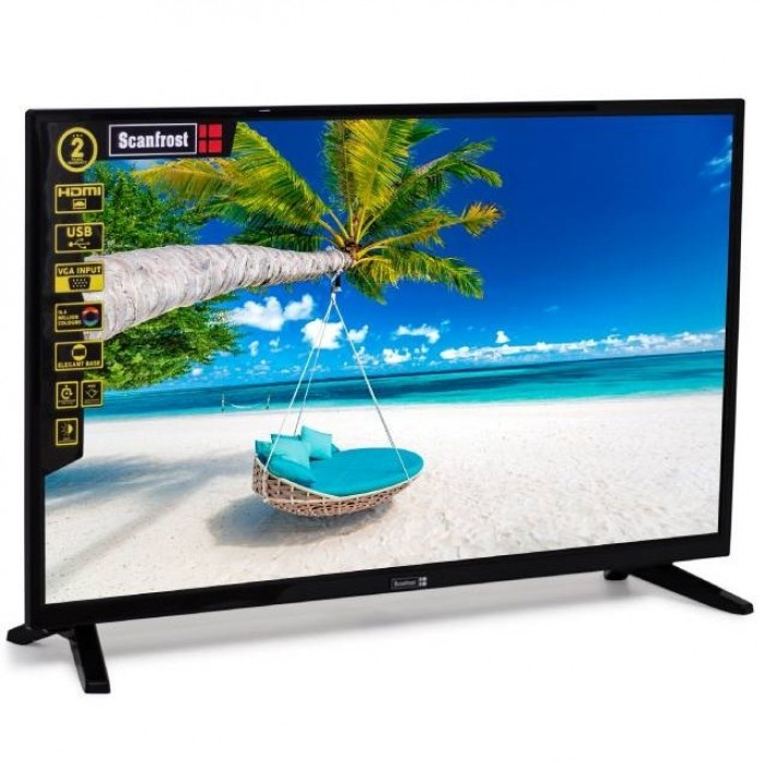 Scanfrost 32 Inches Classic LED Television SFLED32CL   APSCTVFG013