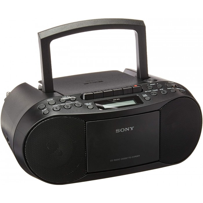 Sony Cassette Boombox With Radio CFD-S70 CD | Personal Audio APSYAD0038