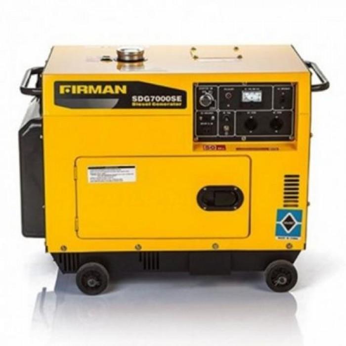 Sumec Firman Diesel Key Starter Generator SDG7000SE