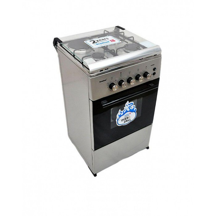 Scanfrost 3 Gas Burners + 1 Electric Hotplate SFC 5312S | 5-Series FS Gas Cooker APSCCKFG15
