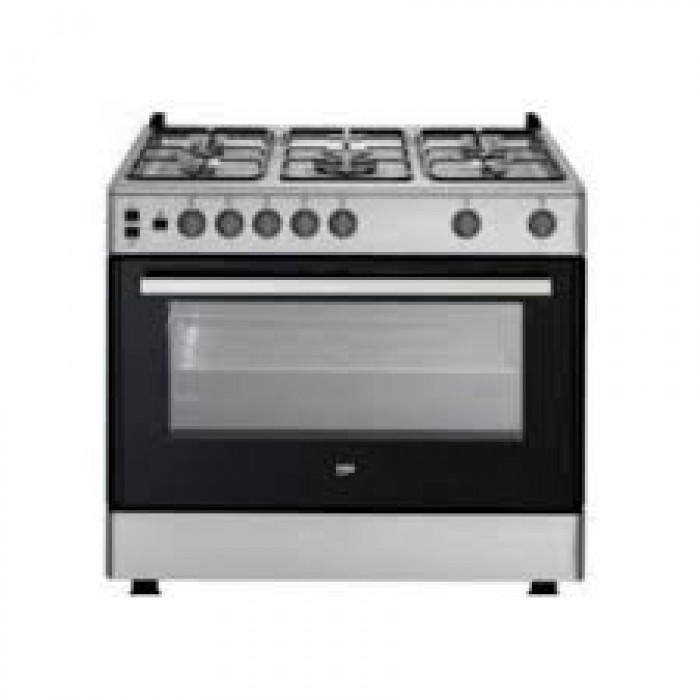 Scanfrost 4 Gas Burners + 2 Electric Hotplates SFC9423B Cooker | 9-Series APSCCKFG25