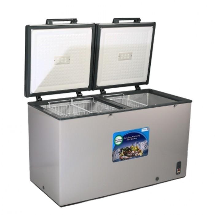 Scanfrost 475L Inox Chest Freezer SFL511X   APSCFZFG13