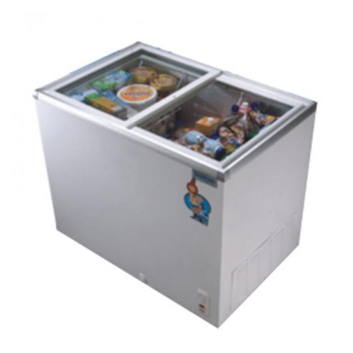 Scanfrost SFCH100 Glass Top Display Freezer | APSCFZFG29