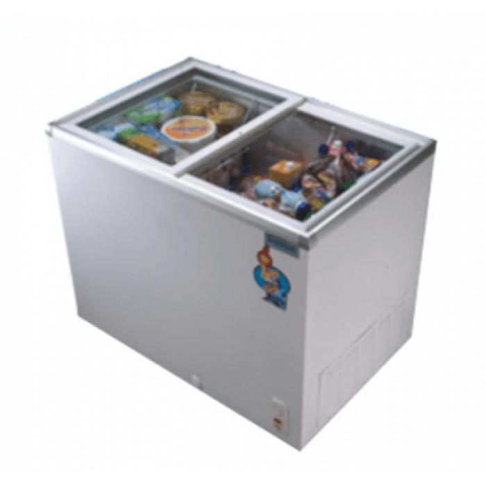 Scanfrost SFCH400 Glass Top Display Freezer | APSCFZCBU07