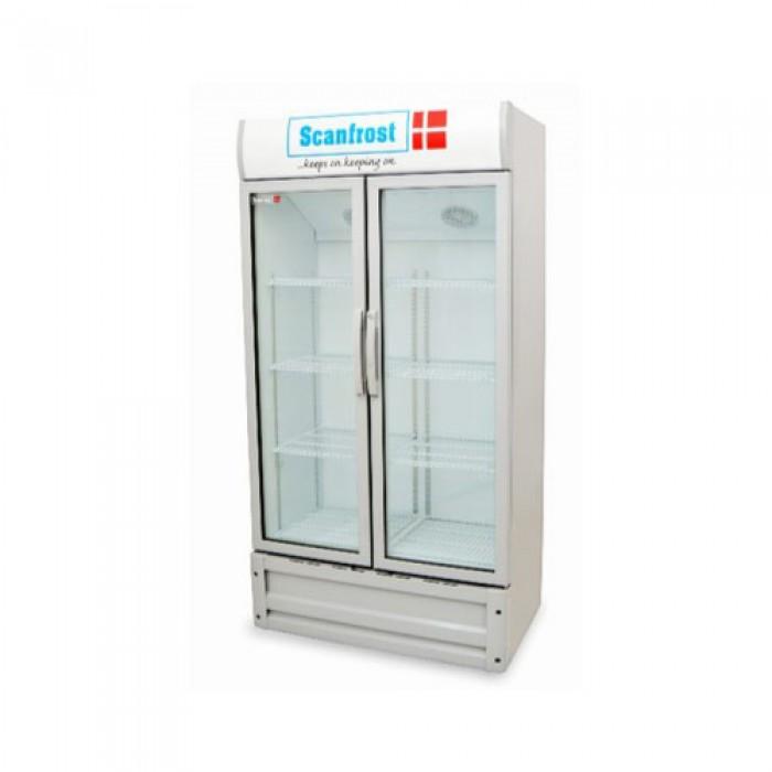 Scanfrost 600Ltrs SFUC600 Double Door Bottle Cooler | APSCFZFG35
