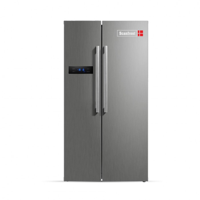 Scanfrost 550L Side By Side Refrigerator SFSBS520M | APSCRFFG18