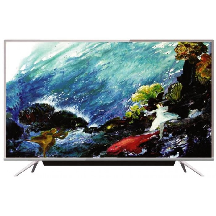 Scanfrost 50 Inches Smart LED T2/S2 Satellite Sound Bar Television SFLED 50AS   APSCTVFG008