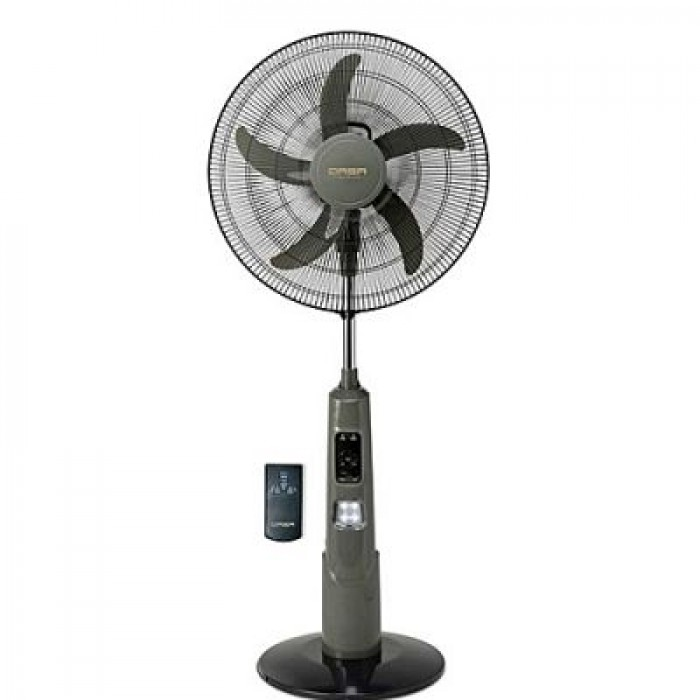 Scanfrost 18-Inch Rechargeable Fan With Remote SFRF181K | APSCRFN001
