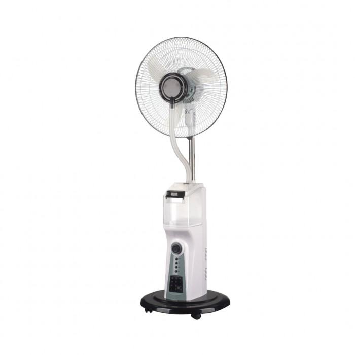 Scanfrost 16-Inch Mist Rechargeable Fan With Remote SFRF161K | APSCRFN002