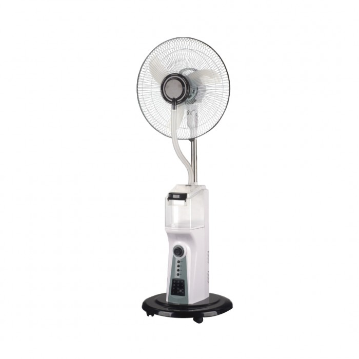 Scanfrost 16-Inch Mist Rechargeable SFMF16RC Floor Standing Fan With Remote | APSCFNFG05 Black Colour