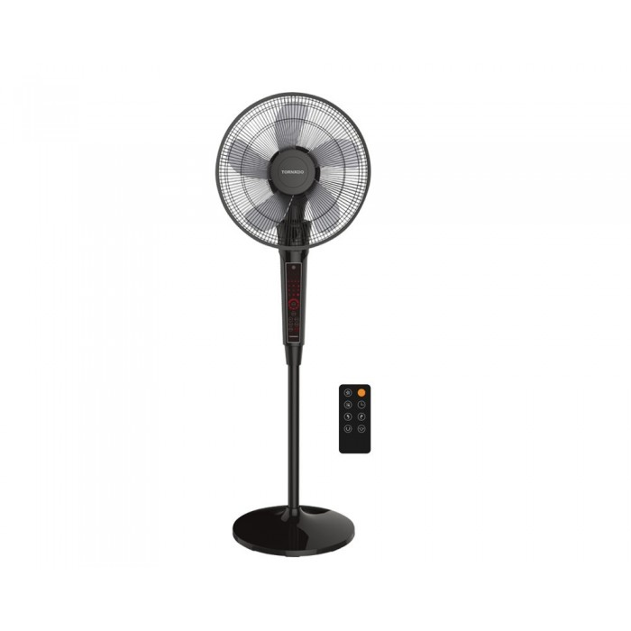 Scanfrost 18-Inch Standing Fan With Remote SFRF18RCB | APSCFNFG09 Black Colour