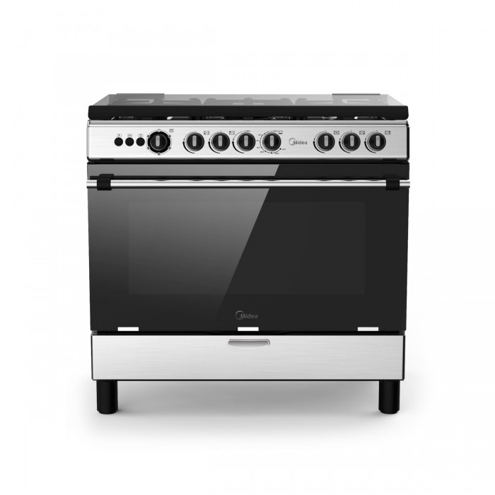 Scanfrost 5 Burners 90X60 CMS Gas Cooker  | SFC9500SS Grill And Oven