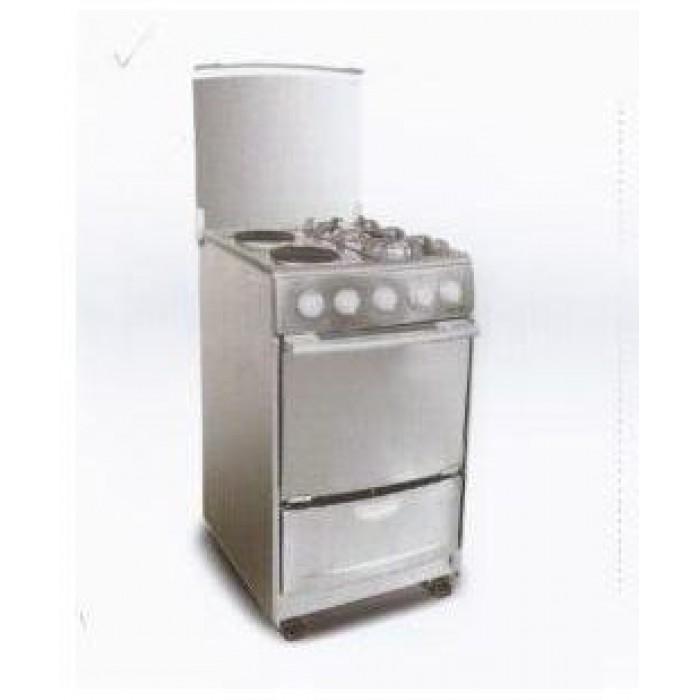 SKYRUN 2 Gas + 2 Electric Burner Gas Cooker GCS-2G2E/MS500