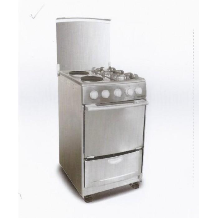 SKYRUN 4 Burner GCS-2G2E/K Gas Cooker 2Gas + 2Electric