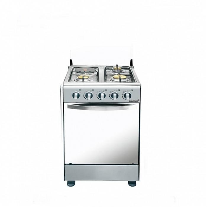 SKYRUN 4 Burner GCS-3G1E/K Gas Cooker 3Gas + 1Electric