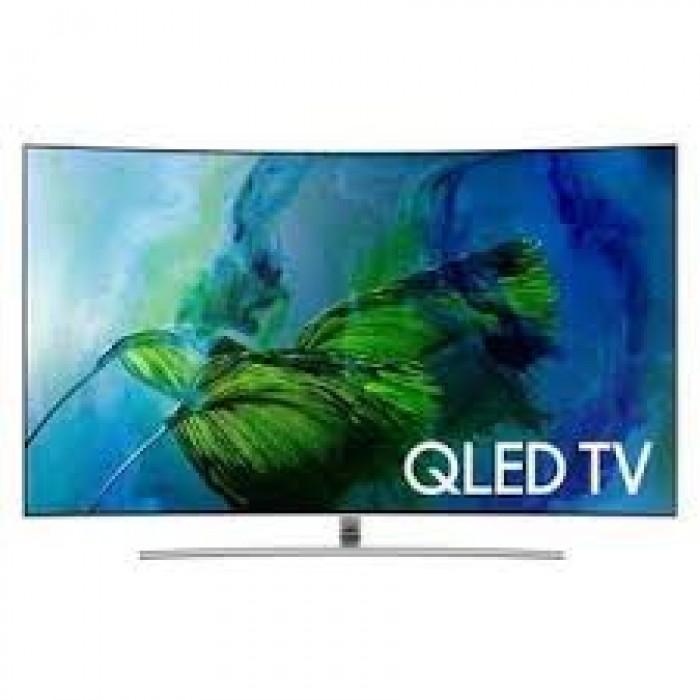 Samsung 55 Inches Smart QLED Curved 4K UDP Processor Television (TV, QA55Q60RAKXKE)