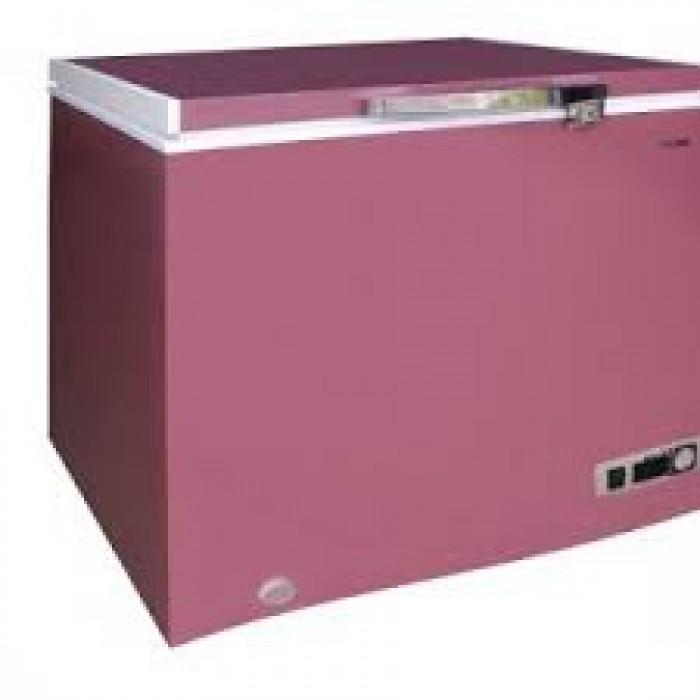 BRUHM 100L Chest Freezer BCF-SD100 | Aluminium Liner External Condenser Fan Red
