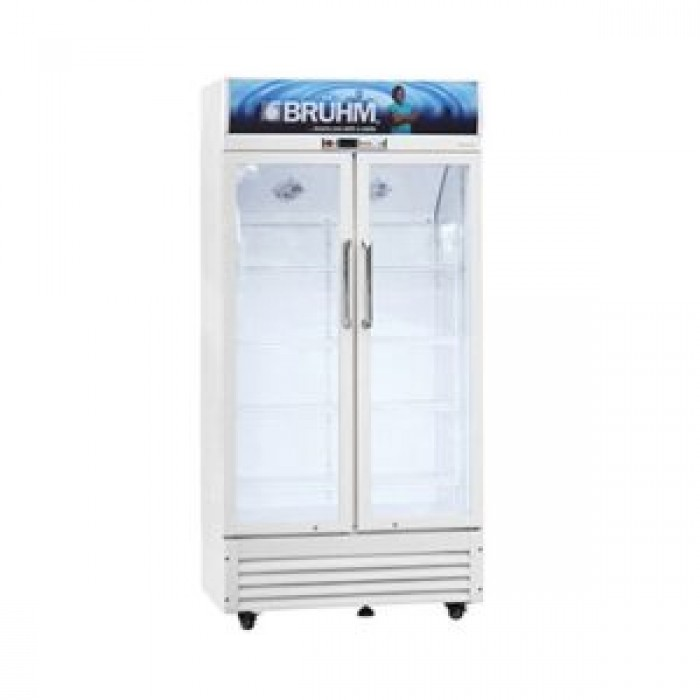 BRUHM 409Litres Double Door Beverage Cooler, BBD-409M | BFV-409SD