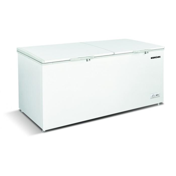 BRUHM 677L Double Door Premium Silver Freezer | CF BCD-700M