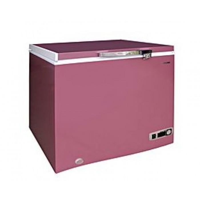 BRUHM 150L Wine Red Freezer | CF BCS-197M