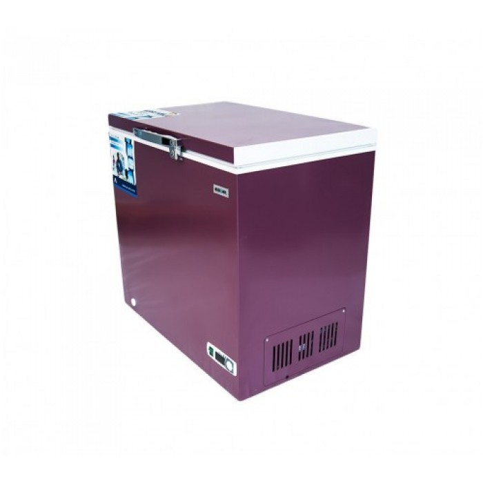 BRUHM 150L Wine Red Freezer | CF BCS-152M